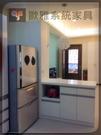 【系統家具】廚房吧檯系統收納櫃