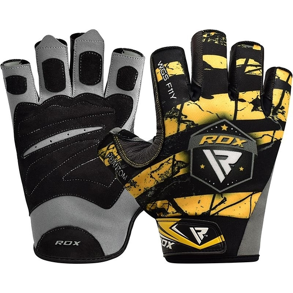 【線上體育】RDX GYM GLOVES SUMBLIMATION F11 YELLOW