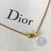 BRAND楓月 Christian Dior 迪奧 CD方塊造型 項鍊 配件 配飾 飾品 時尚單品