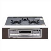 (含標準安裝)林內【RBG-N71W5GA3X-SVL-TR_NG1】嵌入式三口內焰爐+小烤箱爐連烤瓦斯爐