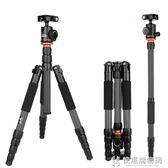 SL-398C碳纖維單反三腳架專業攝影微單相機支架便攜攝像機手機三角架鋁合金 快意購物網