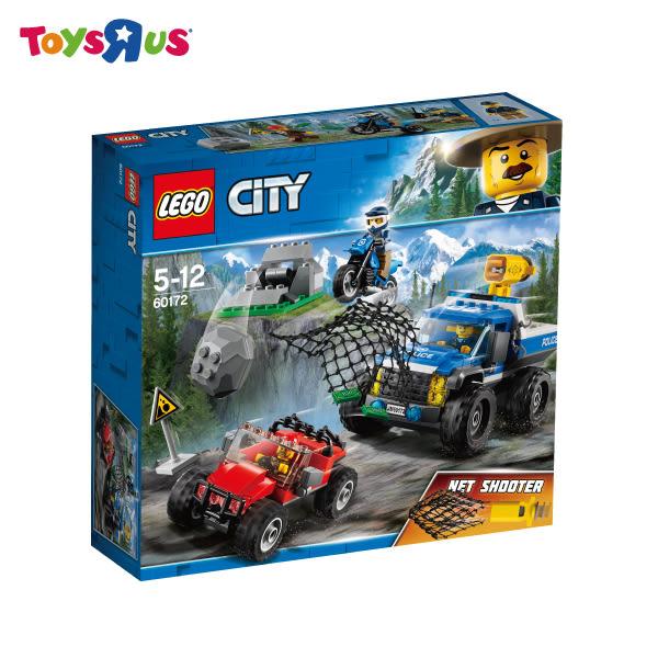 玩具反斗城  樂高 LEGO  CITY  60172 泥路追擊