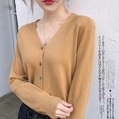 羊毛衫 秋冬新款羊毛開衫女外搭純色大碼毛衣打底針織衫-Ballet朵朵