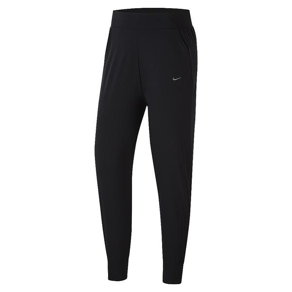 NIKE BLISS LUXE MR PANT 黑 女 中腰 慢跑 訓練 錐形褲 透氣 運動長褲 CU4612010