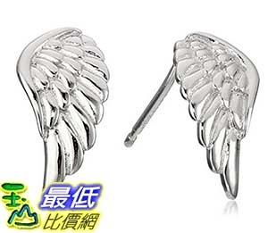 [美國直購] Sterling Silver Angel Wing Stud Earrings 耳釘