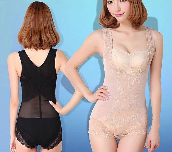 夏季加強版超薄束身衣連體產後收腹束腰束身無痕束身美體內衣-11617001013