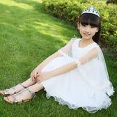 618好康鉅惠 女童連身裙夏裝兒童公主裙8夏季裙子