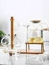 日式耐熱過濾玻璃冷水壺帶把大容量家用防爆泡茶涼開水壺杯子套裝 樂活生活館