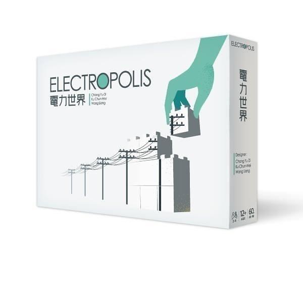 『高雄龐奇桌遊』 電力世界 ELECTROPOLIS 繁體中文版 送能源公投擴充 正版桌上遊戲專賣店
