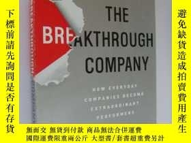二手書博民逛書店The罕見Breakthrough Company: How E