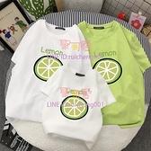 親子裝一家三四口夏季短袖T恤純棉夏裝全家裝上衣【聚可愛】