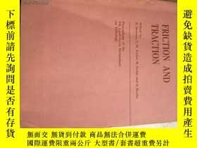 二手書博民逛書店FRICTION罕見AND TRACTION859119636