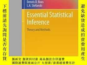 二手書博民逛書店Essential罕見Statistical InferenceY256260 Dennis D. Boos