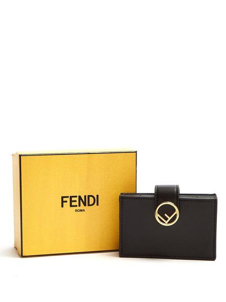 FENDI 防刮牛皮 名片夾 卡片夾 手拿包