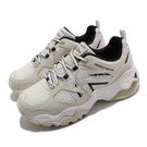 Skechers 休閒鞋 D Lites 3.0 Air-She s Vivid 米白 黑 女鞋 運動鞋 【ACS】 149261OFWT