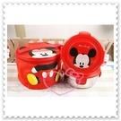 ♥小花花日本精品♥ Hello Kitty 迪士尼米奇不鏽鋼雙層便當盒大臉附皮質提袋韓國限定11802204