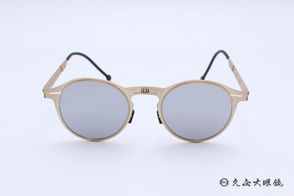 ROAV 偏光太陽眼鏡 Balto - Mod.1003 ( 金框/白水銀) 薄鋼折疊墨鏡