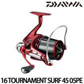漁拓釣具 DAIWA 16 TOURNAMENT SURF 45 05PE (遠投捲線器)