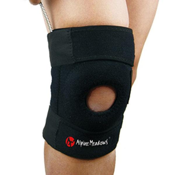 PUSH! 運動戶外休閒用品 單片式單向三束帶高效舒適護膝H10