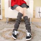 襪套 素面 螺紋 加厚 堆堆襪 襪套【F...