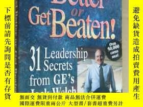 二手書博民逛書店Get罕見Better Or Get Beaten:31 Lea