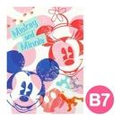 《sun-star》迪士尼繽紛刷色系列B7便條本(米奇&米妮)★funbox生活用品★_UA48100
