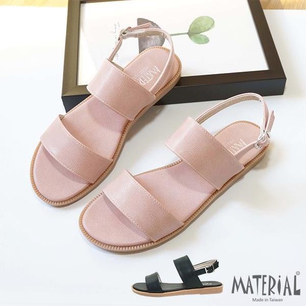 涼鞋 雙橫帶簡約涼鞋 MA女鞋 T1021