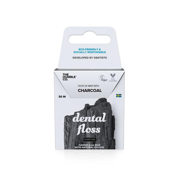 Humble 瑞典環保牙線 - 潔淨竹炭