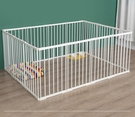 寵物圍欄 狗籠子貓籠大中小型犬家用寵物狗狗圍欄柵欄室內隔離門欄鐵籠TW【快速出貨八折鉅惠】