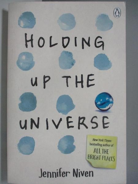 【書寶二手書T3/原文小說_AK3】Holding Up the Universe_Jennifer Niven