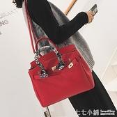 洋氣包女包2021新款潮韓版百搭斜挎包復古單肩包時尚手提包鉑金包