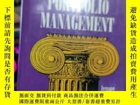 二手書博民逛書店英文原版罕見FIXED-INCOME PORTFOLEO MAN