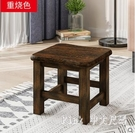 小凳子時尚家用實木沙發凳創意換鞋凳客廳沙...