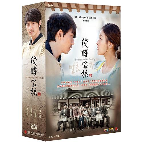 發酵家族 DVD [雙語版] ( 宋一國/朴貞熙/李珉英/李大根/姜信日/鄭愛利/金永勳 )