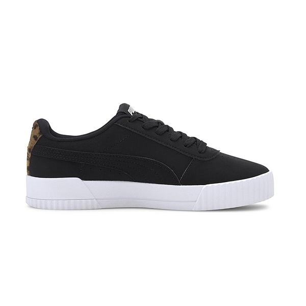 PUMA Carina Leo H Shoes 黑色 基本款 休閒鞋 運動鞋 373228-01