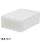 收納盒 CARO53 H18 高度18c...