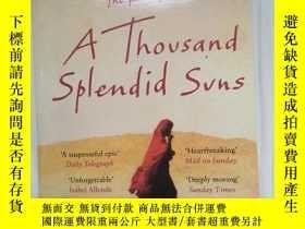 二手書博民逛書店A罕見Thousand Splendid Suns 燦爛千陽Y2731 Khaled Hosseini(卡勒德
