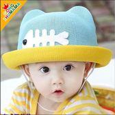 嬰兒帽子夏天1-2-3-4歲韓版男童女孩寶寶遮陽兒童防曬網眼草帽潮   良品鋪子