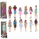 《 MATTEL 》時尚達人系列芭比(隨機出貨) / JOYBUS玩具百貨