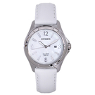 CITIZEN 星辰手錶專賣店 EU6080-07D 優雅石英女錶 防水30米 顯示日期 羅馬數字 全新 保固一年