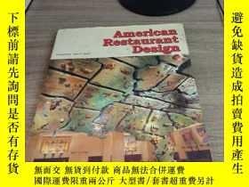 二手書博民逛書店American罕見Restaurant DesignY2427
