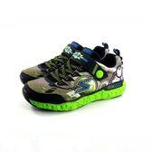 大童款 SKECHERS 97501L/BKLM 輕量透氣 慢跑鞋《7+1童鞋》B912 綠色