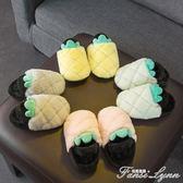 寶寶棉拖鞋女1-3歲防滑嬰幼兒可愛冬天2室內兒童毛毛拖鞋親子女童 范思蓮恩