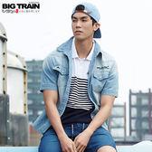 BIG TRAIN  薄牛仔襯衫-男B70115