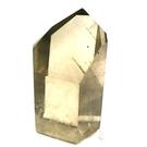 『晶鑽水晶』天然黃水晶綠幽靈柱 約55mm高 招財 意外之財 擺件 客廳 辦公桌 書桌 送禮自用