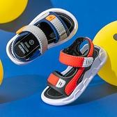男童涼鞋2021新款夏季中大童男孩軟底防滑小童寶寶鞋兒童沙灘涼鞋 幸福第一站