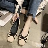 豆豆鞋2020春夏季新款韓版平底針織單鞋百搭仙女風 LF1252【艾菲爾女王】