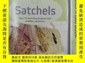 二手書博民逛書店Build罕見a Bag Book & Templates: Satchels: Sew 15 stunning