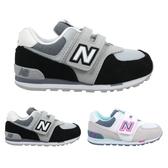 NEW BALANCE 574系列 男女童復古慢跑鞋-WIDE (免運 NB N字鞋≡體院≡ IV574