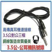 [富廉網] AD-26 標準黑色 3.5公-公耳機訊號線 30CM